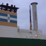 Norsepower Rotor Sail on Estraden