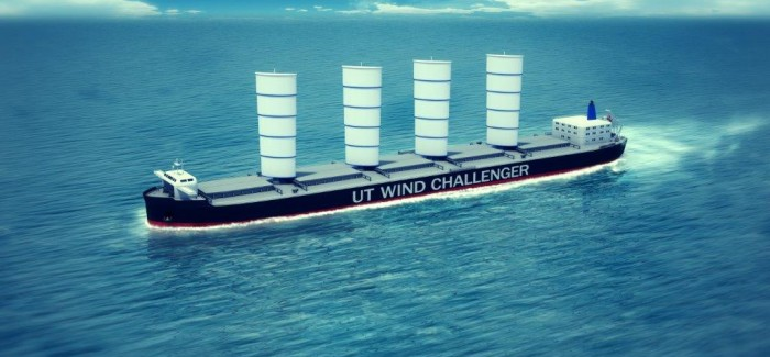 Projets portant sur la propulsion éolienne principale ou auxiliaire