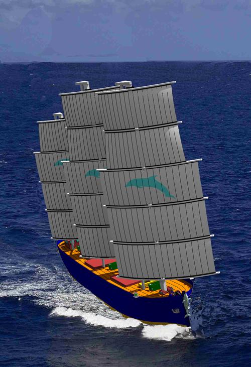 windfregatschip