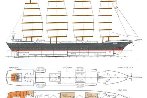 Modern Merchant Sailing Vessel – IWSA Member