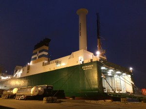 Norsepower proves wind power savings at sea