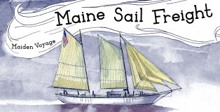 MaineSail Postcard Image