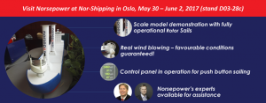 norsepower norshipping graphic