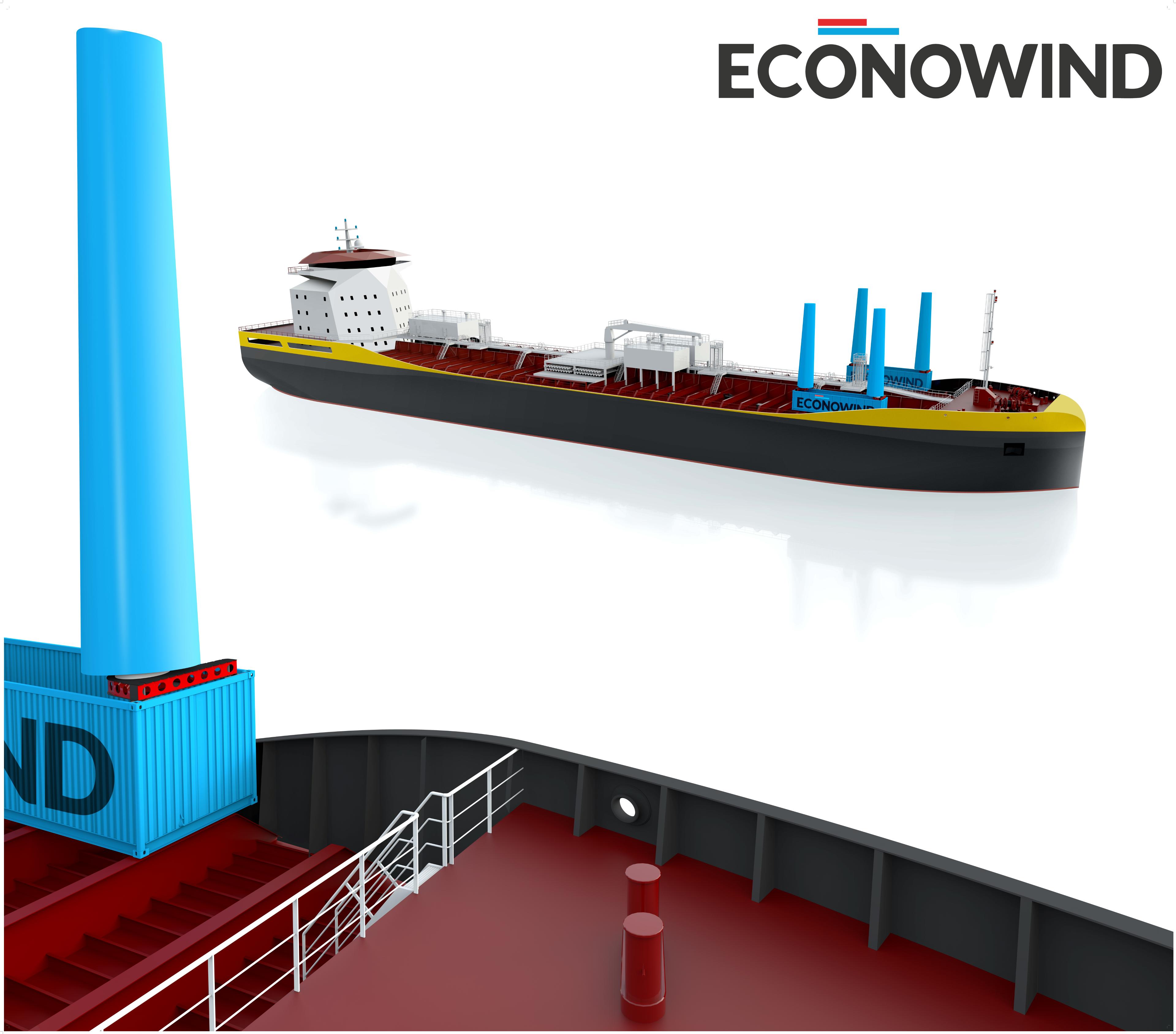 eConowind + Tanker